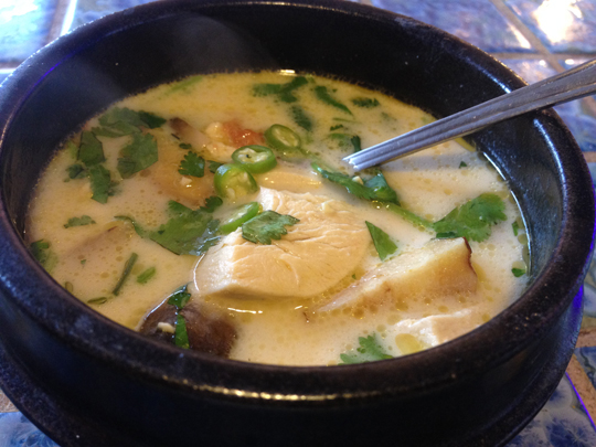My favorite, Tom Kha Gai