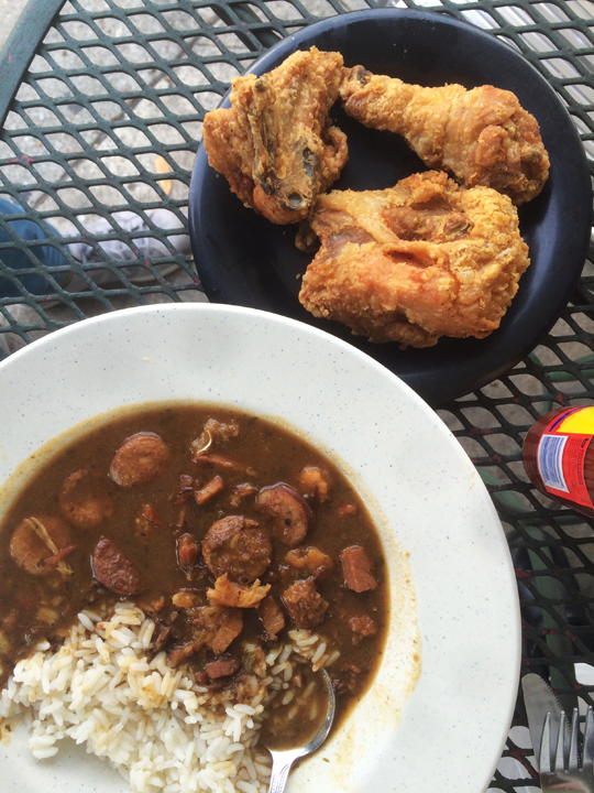Fried chicken & gumbo, Lil' Dizzy's
