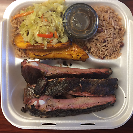 Jerk Ribs at Jamaican Jerk
