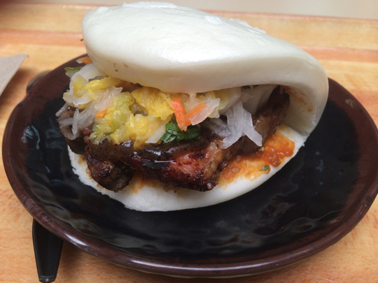 Pork bun at Hanbun